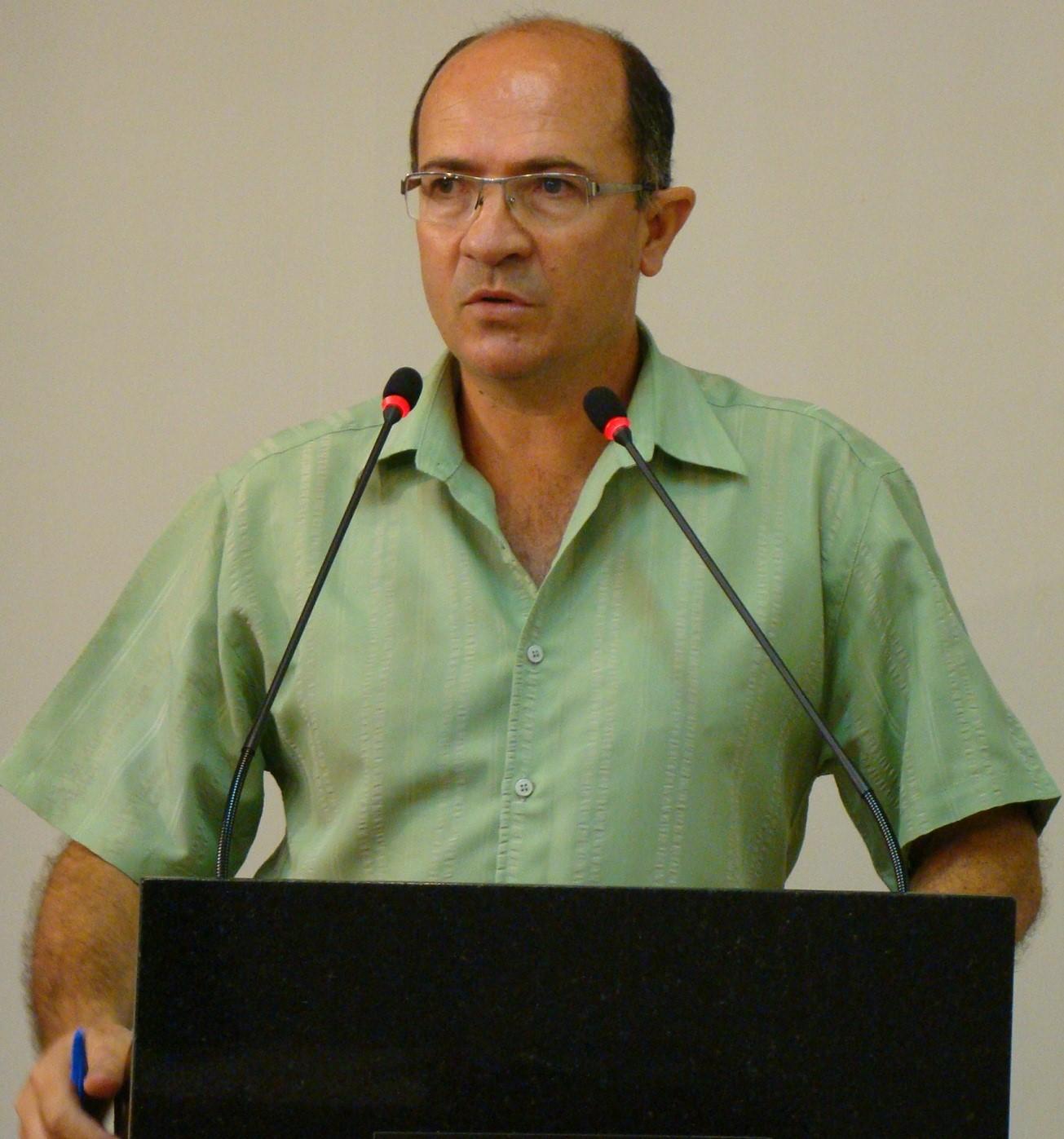 Vereador Ademar Possamai apresenta relatório dos serviços