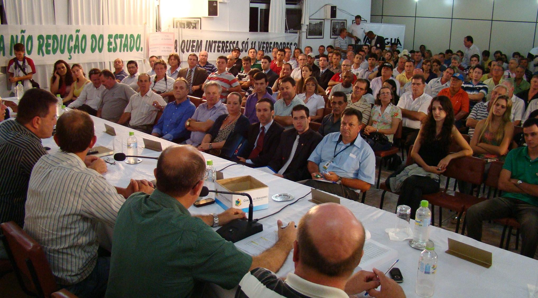 Evento foi realizado no auditório do Sindicato nas Indústrias do Vestuário