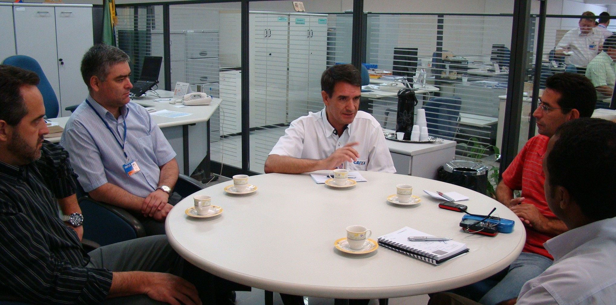 Reunião na CEF