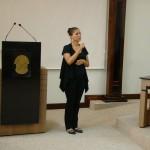 Valéria Camerlengo (intérprete de libras)