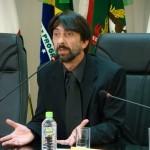 Rubens Lunge - presidente do Sindicato dos Jornalistas de SC