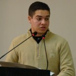 Gabriel Henrique - representando a turma do 3º ano do ensino médio do Senai