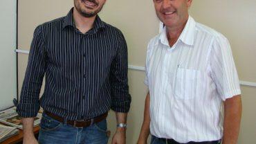 vereador Jaime Negherbon e Giorgio Donini