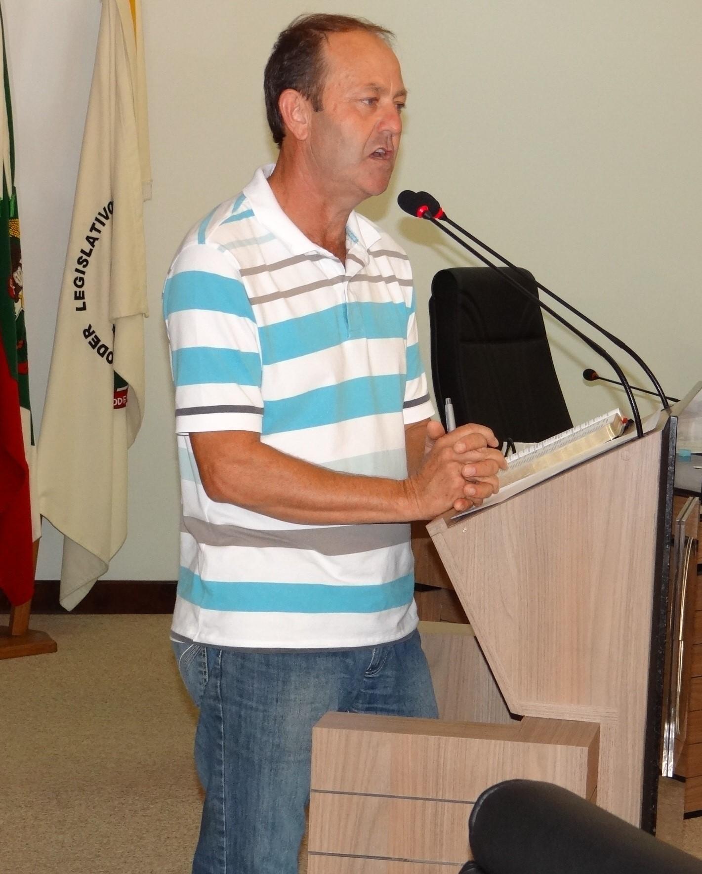 vereador Jaime Negherbom (PMDB)