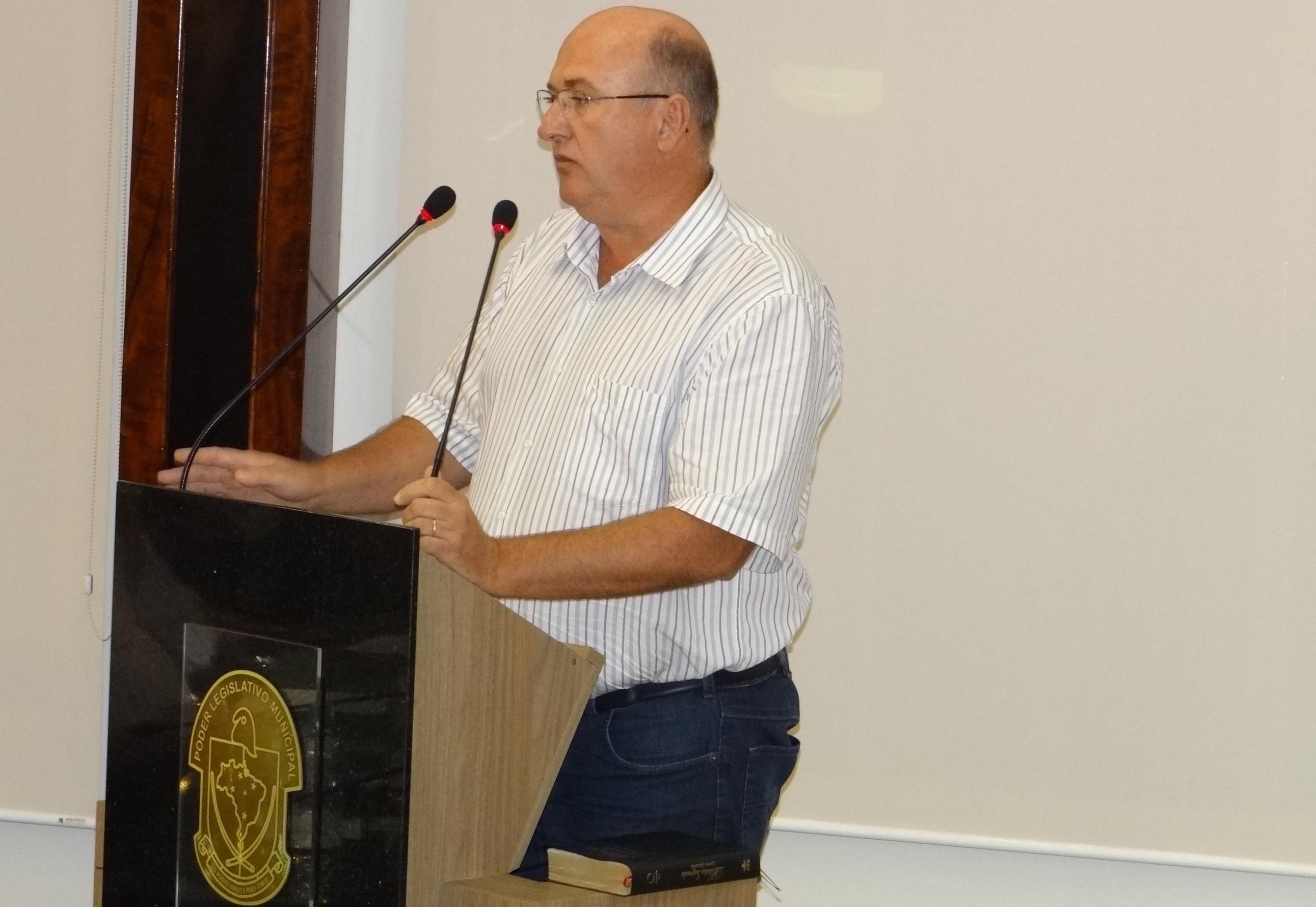 vereador Lorival Demathê (PSD)