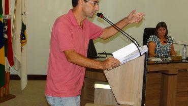 vereador Justino da Luz (PT)