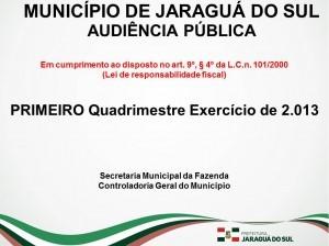 Prestação Contas LRF - Prefeitura Municipal