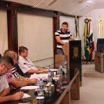 Jeferson de Oliveira discorre sobre abrigos de passageiros