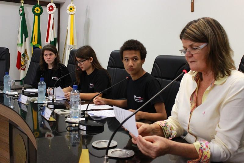 Vereadores Mirim Sessão 016