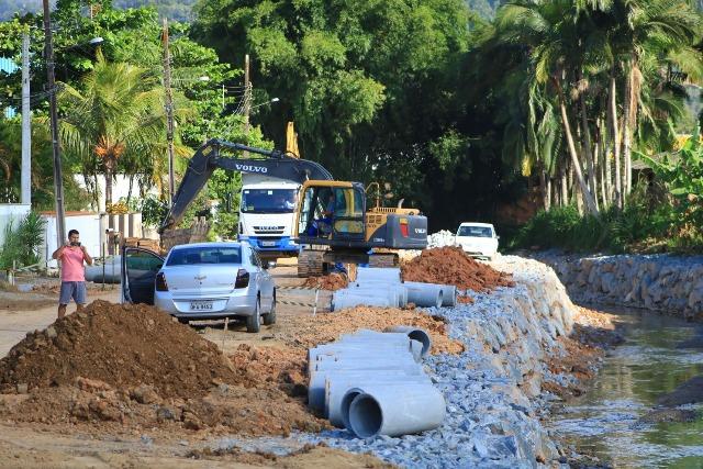 Câmara aprova recursos para obras de enrocamento