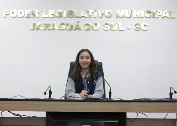 Mirim jaraguaense vai relatar projeto na Câmara Mirim Federal